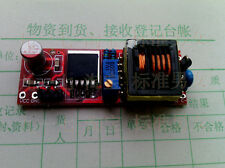 High voltage automatic charging of capacitor charger micro electromagnetic gun