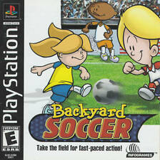 Backyard Soccer - PS1 PS2 Complete Playstation Game
