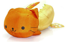 "San-X Nyanko Cat 14"" RED HOTS Nyanco Hot Dog Food Plush Art New Doll Soft RARE!"