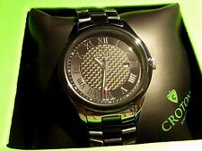 Croton CN307513 Men's Tungsten & Ceramic Swiss Movement Watch
