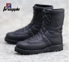 1/6 Male Boots Combat Boots Military Boots SWAT Shoes F 12'' Action Figure TypeA