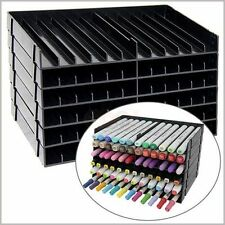 Spectrum Noir Crafters Companion Pen Black Storage Unit 8 trays for 96 pens