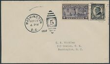#E15 ON NICKLES FIRST DAY COVER NOV 29,1927 CV $100 BS4552
