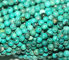 """15"""" Green Blue  Turquoise  Round Beads 4mm Gemstone Loose"""
