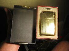 Vintage MARATHON Slide-A-Lite Cigarette Case & Lighter Combo in Original BOX