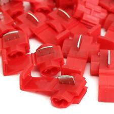 50X Car Quick Splice Lock Wire Terminals Connector Electrical Crimp Cable Snap