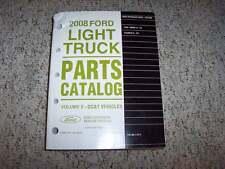 2008 Lincoln Mark LT Truck Parts Catalog Manual 4WD 5.4L V8