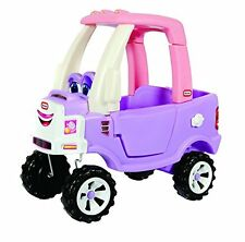 Little Tikes Princess Cozy RIDE ON TRUCK, KIDS Push Handle Ride On CAR