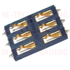 NEW 2 X IPHONE 3GS INNER SIM CARD READER CONNECTOR HOLDER PART