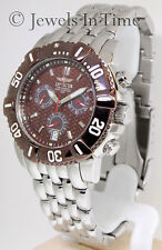 Invicta Pro Diver Model No. 7160 Stainless Steel Quartz Mens Watch Box & Papers
