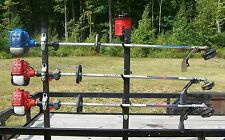 3 Place Weedeater Trimmer Racks OPEN Lockable with FREE 3 Lb trim line rack PK-6