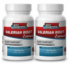VALERIAN ROOT Extract. Sleep Support. Promotes Relaxation (2 Bottles)
