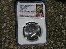 2014 D 90% silver Kennedy half dollar NGC SP 69 Early Releases