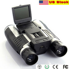 "Xmas 2""LCD Digital Video Camera Binocular 1080p 12x32 Telescope Vision US Stock"