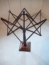 Antique wooden umbrella wool winder