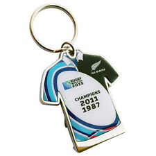 Rugby World Cup 2015 All Blacks 1987 / 2011 Champions Bottle Opener Key Ring