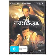 DVD GROTESQUE, THE AKA GENTLEMEN DON'T EAT POETS Sting 1995 Black Comedy R4 [BNS