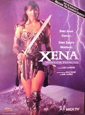 XENA Warrior Princess LUCY LAWLESS poster SEXY 1995