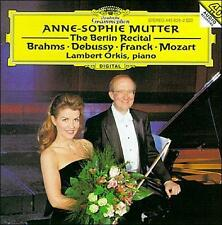 Anne-Sophie Mutter: The Berlin Recital (CD, Nov-1996, DG Deutsche Grammophon...
