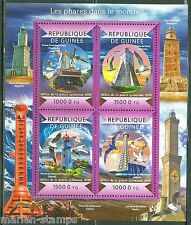 GUINEA 2015 LIGHTHOUSES OF THE WORLD SHEET MINT NH