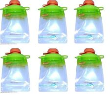 Reusable Baby Toddler or Adult Food Pouch (6 pack)