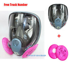 3 in1 Suit Painting Spraying For 3M 6800 Gas Mask Full Face Facepiece Respirator