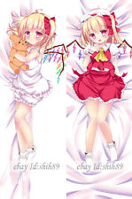 Anime DAKIMAKURA TouHou Project Flandre Scarlet Pillow Case Cover Huging Body #F