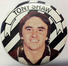VFL/AFL Collectable Tony Shaw Collingwood Magpies Player Badge/ Pin