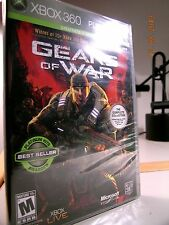 GEARS OF WAR w/ALL MULTIPLAYER MAPS, 2 DISCS, XBOX 360 ~ NEW N' MINT, FREE SHIP!