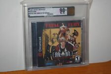 Fatal Fury: Mark of the Wolves (Sega Dreamcast) NEW SEALED MINT GOLD VGA 90+!