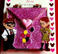 Disney Pins 2016 Up Carl and Ellie Love Letters LE Pin