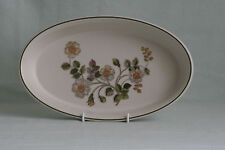 MARKS & SPENCER ~ AUTUMN LEAVES ~ OVAL DISH ~ 31 x 18.5cm