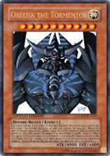 Yugioh Obelisk the Tormentor JUMP-EN037 Promo Ultra Rare Moderately Played