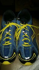 EUC Saucony XT-600 Shay XC Mens Blue/Yellow Running Spike Track Shoe - Size 8.5