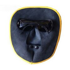 Leather Welding Protective Gear Mask with Glasses Anti-glare For Welder Use