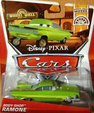 DISNEY CARS RAMONE BODY SHOP WHEEL WELL MOTEL  N°8 /11 2013 RARE NEW MATTEL