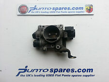1999 2006 fiat punto mk2 1.2 8v THROTTLE BODY , PUNTO ACTIVE Breaking