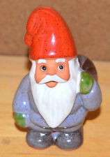 ROLF BERG Torshalla Sweden Swedish Folk Art Pottery Gnome Elf Santa Figurine (I)