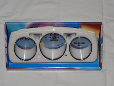 92-95 Honda Civic K600 Euro Dash Eurodash Gauges Cover Cluster Bezel White
