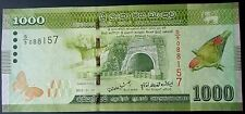 Sri Lanka 1000 Rupees Banknote UNC UNCirculated World Paper Money Free Shipping