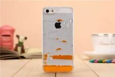3D Drop Clear Liquid Dynamic Water Case Maze Cover For IPhone 4/4S/5/5C/5S/6S