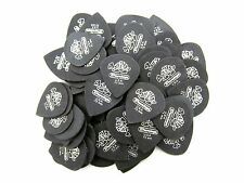 Dunlop Guitar Picks  Pack of 72  Tortex  Pitch Black  Jazz  .73mm  482R.73