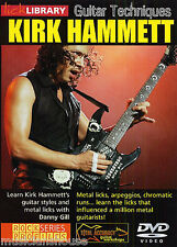 LICK LIBRARY GUITAR TECHNIQUES KIRK HAMMETT Learn to Play Tutor Rock Metal DVD