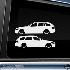 (987) 2x Fun sticker pegatina/low and slow bmw e91 Touring m3 Motorsport