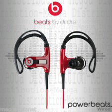 Beats by Dr Dre PowerBeats Active Sport Ear-Hook Wired Headphones - Red/Black