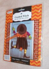 """Halloween Crashed Witch - Size 30"""" x 48"""" - Brand NEW, Sealed"""
