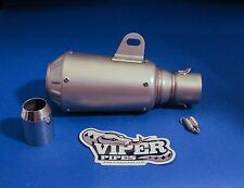 Universal 51mm Shorty Motorcycle Exhaust Muffler Silencer Slip On