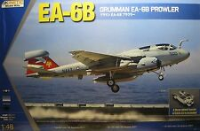 1/48 Grumman EA-6B Prowler with A/S32A-32 Tractor Model Kit by Kinetic