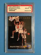 1992-93 Upper Deck #1B  Shaquille O'Neal RC  PSA Graded 8  NM/MT
