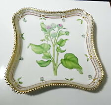 "Royal Copenhagen FLORA DANICA 3564 Square Tray 9 3/8"",  Mint"